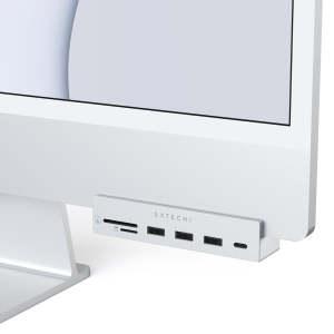 "Satechi Aluminium iMac 24"" USB-C Hub With Clamp"