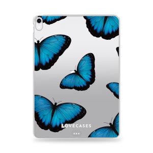 Lovecases iPad mini 6 2021 6th Gen. Gel Case - Blue Butterfly