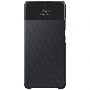 Official Samsung Galaxy A52s Smart S View Wallet Case - Black