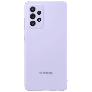 Official Samsung Galaxy A52s Silicone Cover Case - Violet