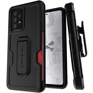 Ghostek Iron Armor 3 Samsung Galaxy A52s Tough Case - Black