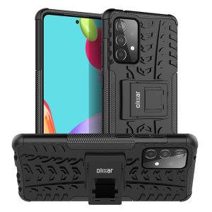 Olixar ArmourDillo Samsung Galaxy A52s Protective Case - Black