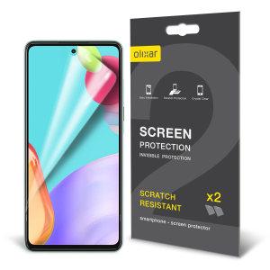 Olixar Samsung Galaxy A52s Film Screen Protector - 2 Pack