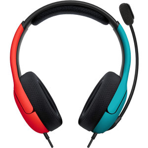 PDP Nintendo Switch OLED Wired Headset - Blue / Red