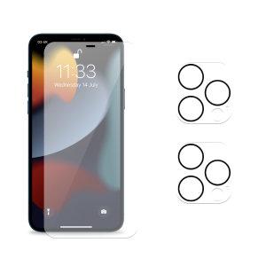 Olixar iPhone 13 Pro Screen Protector & Twin Pack Camera Protectors