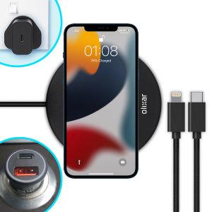 Olixar iPhone 13 mini Complete Fast-Charging Starter Pack Bundle