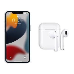 FX iPhone 13 mini True Wireless Earphones With Microphone - White