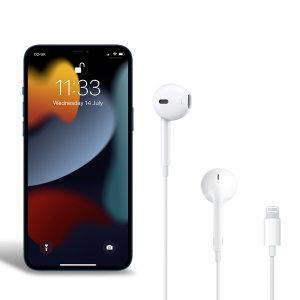 Official Apple iPhone 13 Pro Lightning Earphones - White