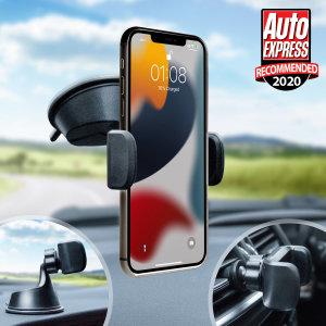 Olixar iPhone 13 Windscreen, Dashboard & Vent Car Holder