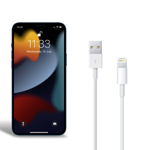 Official Apple Lightning to USB Charging Cable For iPhone 13 Pro - 1m