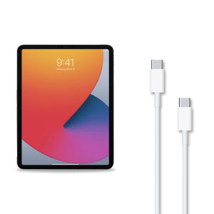 Official Apple iPad mini 6 2021 6th Gen. USB-C To C Cable - 1m - White