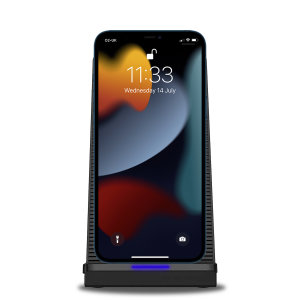 Olixar iPhone 13 Pro Max 10W Wireless Charging Stand With Cooling Fan