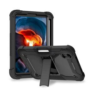 Olixar iPad mini 6 2021 6th Gen. Tough Case With Apple Pencil Holder