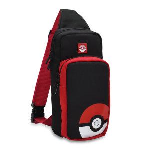 Hori Nintendo Switch Pokeball Edition Travel Bag - Black/Red