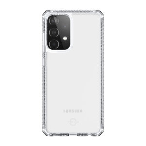 ITSkins Spectrum Samsung Galaxy A52s Antimicrobial Case - Clear