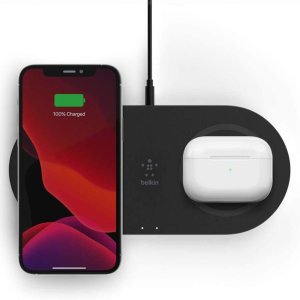 Belkin Boost Charge 15W Dual Wireless Charging Pad - Black