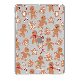 """LoveCases iPad 10.2"""" 2021 Gel Case - Christmas Gingerbread"""