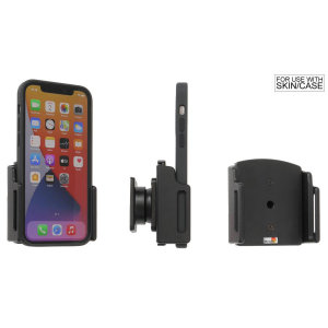 Brodit Passive iPhone 12 Series Car Holder With Tilt Swivel - Black