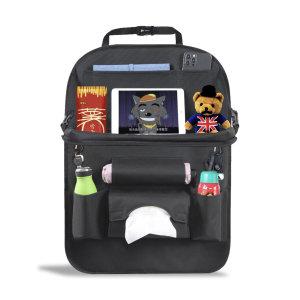 Olixar Hanging Car Seat Storage Organiser Multi-Pocket - Black