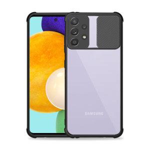 Olixar Samsung Galaxy A52 Camera Privacy Cover Case - Black
