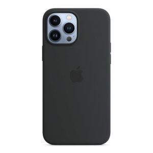 Official Apple iPhone 13 Pro Max Silicone Case With MagSafe - Midnight