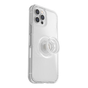 OtterBox Pop Symmetry iPhone 12 Pro Max Protective Case - Clear