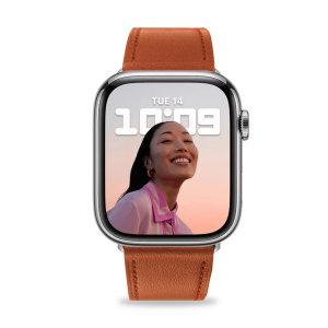 Olixar Apple Watch Genuine Leather 38mm Strap -  Brown