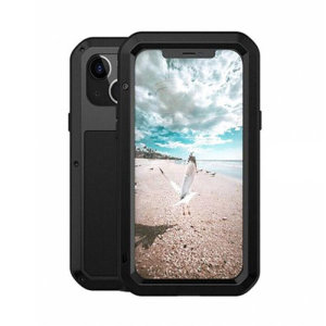 Love Mei Powerful iPhone 13 Protective Case - Black