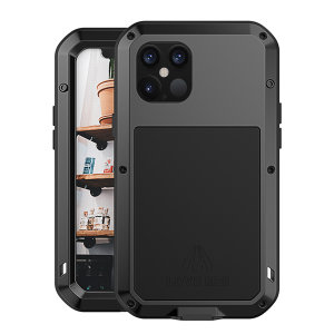 Love Mei Powerful iPhone 13 Pro Max Protective Case - Black