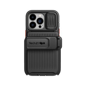 Tech21 iPhone 13 Pro EvoMax Case With Holster - Off Black