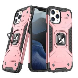 Wozinsky iPhone 13 Ring Stand Tough Case  - Rose Gold