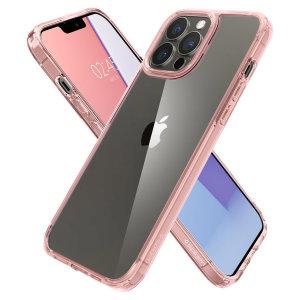 Spigen iPhone 13 Pro Ultra-Hybrid Bumper Case - Rose Crystal