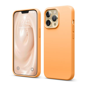 Elago Soft Silicone iPhone 13 Pro Max Case - Orange