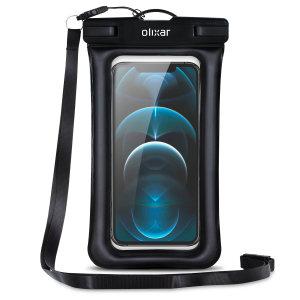 Olixar iPhone 13 Waterproof Pouch - Black