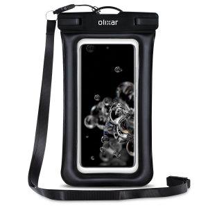 Olixar Samsung Galaxy S21 Ultra Waterproof Pouch - Black