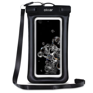 Olixar Samsung Galaxy S21 Waterproof Pouch - Black