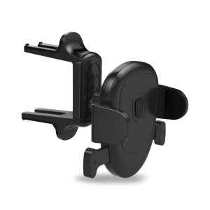Olixar Smartphone Car Holder For Circular Air Vents - Black