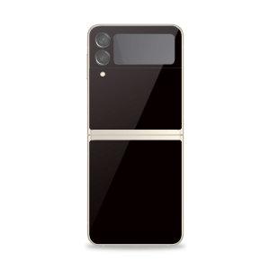 Olixar Samsung Galaxy Z Flip 3 Back Glass Screen Protector - Black