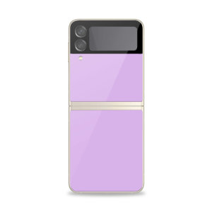 Olixar Samsung Z Flip 3 Back Glass Screen Protector - Purple