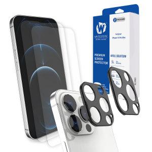 Whitestone Dome iPhone 13 Pro Max Screen & Camera Protector - 2 Pack