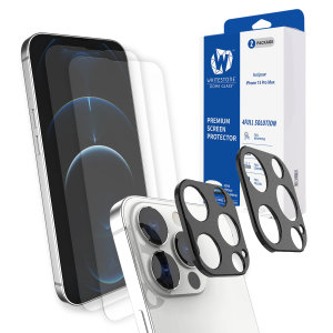 Whitestone Dome iPhone 13 Pro Screen & Camera Protector - 2 Pack