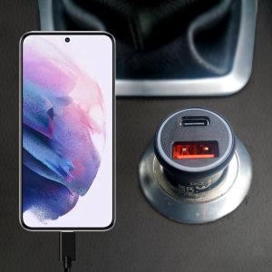 Olixar Samsung Galaxy S22 Plus 36W Dual Car Charger & 1.5m USB-C Cable