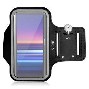 Olixar Sony Xperia 10 III Running & Fitness Armband Holder - Black