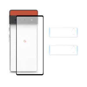 Olixar Google Pixel 6 Pro Clear Case, Screen & Camera Protector Pack
