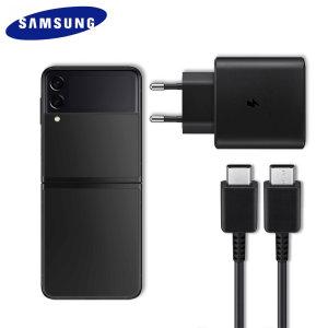 Official Samsung Galaxy Z Flip 3 45W EU Fast Charger - Black
