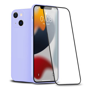 Olixar iPhone 13 Front & Back Full Cover Protective Case - Lilac