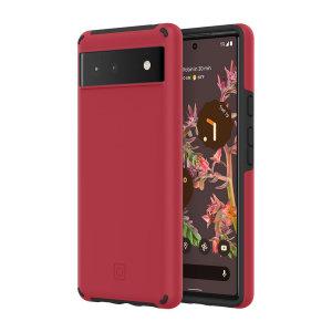 Incipio Google Pixel 6 Duo Case - Salsa Red and Black