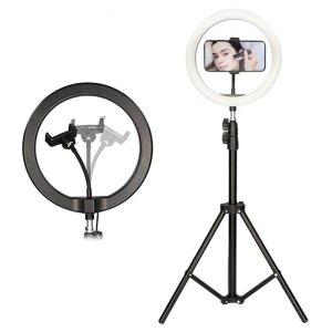 Ksix Universal Smartphone Vlogging Kit with LED Light and 1.6m Tripod