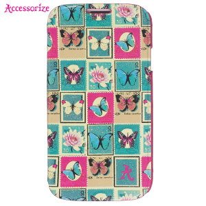 Accessorize Cover for Samsung Galaxy S4 - Stamps