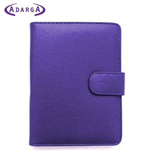 Adarga Book Case for Amazon Kindle / Kindle Touch - Purple